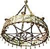 Паникадило церковное одноярусное (хорос) - 8 свечей