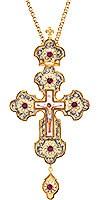 Крест наперсный ювелирный №89