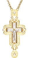 Крест наперсный №132