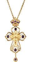 Крест наперсный ювелирный №1070