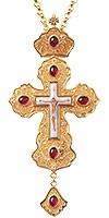 Крест наперсный с украшениями №006