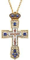 Крест наперсный с украшениями №028