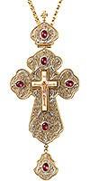 Крест иерейский с украшениями №12