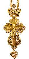 Крест наперсный ювелирный №11