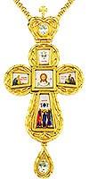 Крест наперсный - А21 (с цепью)