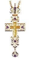 Крест наперсный с украшениями № 30