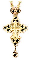 Крест наперсный с украшениями №32