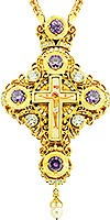 Крест наперсный - A53 (с цепью)
