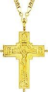 Крест-мощевик наперсный - A67LP (с цепью)