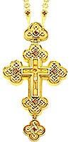 Крест наперсный - A71 (с цепью A52)