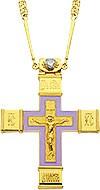 Крест наперсный - A73 (с цепью)