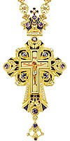 Крест наперсный - А98-44 (с цепью)
