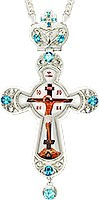 Крест наперсный - A121L (с цепью)