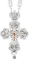 Крест наперсный - A126L (с цепью)
