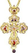 Крест наперсный - A127LP-2 (с цепью)