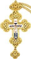 Крест наперсный с украшениями №0128