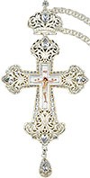 Крест наперсный и цепью №0130