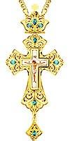 Крест наперсный - A138LP (с цепью)