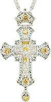 Крест наперсный - A153L (с цепью)