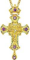 Крест наперсный - A153LP-1 (с цепью)