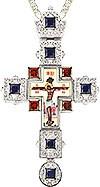 Крест наперсный - A155 (с цепью)