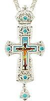 Крест наперсный - A159L (с цепью)