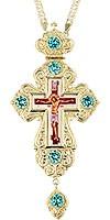 Крест наперсный - А214L (с цепью)