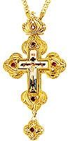 Крест наперсный - А225 (с цепью)