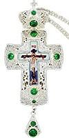 Крест наперсный и цепью №0243