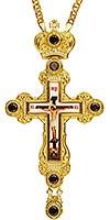 Крест наперсный с цепью №0258