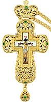 Крест наперсный с цепью №0259