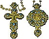 Комплект: крест и панагия -13