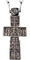 """Крест-мощевик """"Спаситель со святыми"""" -17"""