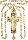 Крест наперсный (скань)