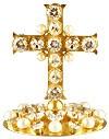 Крест на митру № 80