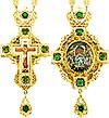 Комплект архиерейский (панагия + крест) - A20