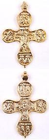 Православный нательный крест №42