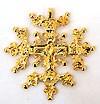 Православный нательный крест №43
