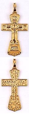 Православный нательный крест №67