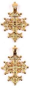 Православный нательный крест №107