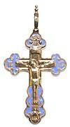 Православный нательный крест №214
