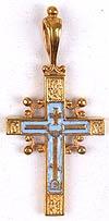 Православный нательный крест №228