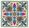 Цветочный узор-5