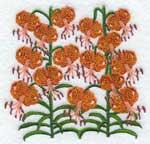 Полосатые лилии-1