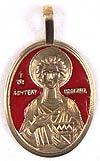 Православный нательный мощевик: Св. великомученик и целитель Пантелеимон