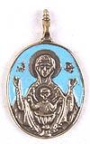 Православный нательный образок: Икона Пресв. Богородицы Неупиваемая Чаша