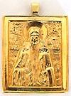 Православный нательный образок: Преп. Паисий Великий
