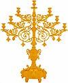Церковный семисвечник №5