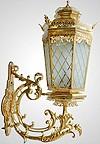 Лампа настенная большая