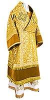 Архиерейское облачение из парчи П (жёлтый/золото)